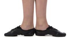 Immagine dei piedi del ballerino Immagine Stock