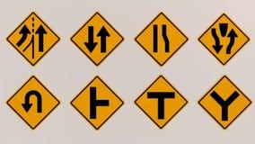 Immagine dei segnali stradali 3D Fotografia Stock Libera da Diritti