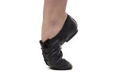 Immagine del ballerino che sta sulla punta dei piedi Immagini Stock