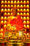 Immagine del Buddha di stile cinese immagine stock