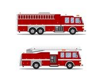 Immagine del camion dei vigili del fuoco illustrazione vettoriale