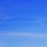 Immagine del cielo lanuginoso di estate Fotografia Stock Libera da Diritti