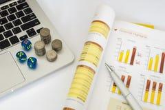 Immagine del concetto di investimento Immagini Stock