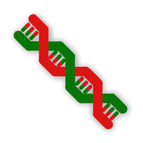Immagine del DNA Immagine Stock Libera da Diritti