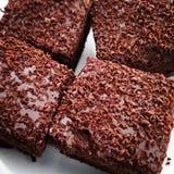 Immagine del dolce di cioccolato fotografia stock libera da diritti
