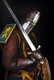 Immagine del guerriero vigoroso Immagini Stock Libere da Diritti