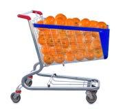 Immagine del mandarino in carretto Fotografia Stock Libera da Diritti