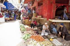 immagine del mercato, Casablanca, Marocco Fotografia Stock Libera da Diritti