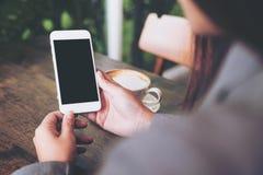 Immagine del modello del telefono cellulare Fotografie Stock