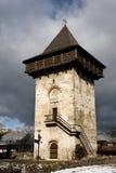 Immagine del monastero di Gura Humorului, Moldavia, Romania Fotografia Stock Libera da Diritti