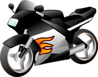 Immagine del motociclo Immagini Stock Libere da Diritti