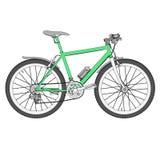 Immagine del mountain bike Immagine Stock