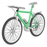 Immagine del mountain bike Immagini Stock Libere da Diritti