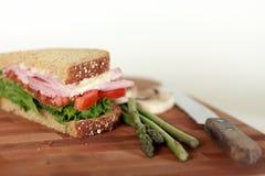 Immagine del panino Fotografie Stock