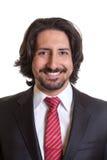 Immagine del passaporto dell'uomo d'affari turco Immagini Stock Libere da Diritti