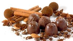 immagine del primo piano del cioccolato Immagine Stock Libera da Diritti