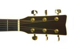 Immagine del primo piano dei sintonizzatori classici della chitarra Fotografie Stock