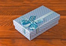 Immagine del primo piano del contenitore di regalo Immagine Stock Libera da Diritti