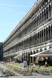 Immagine del ristorante dell'aria aperta in San Marco Italy Immagine Stock