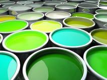 Immagine del serbatoio di colore Fotografie Stock