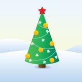 Immagine dell'albero di Natale Immagini Stock