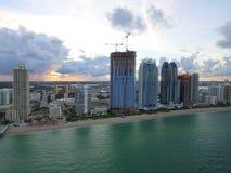 Immagine dell'antenna di Sunny Isles Beach FL Immagini Stock Libere da Diritti