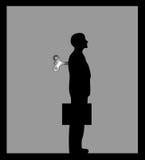 Immagine dell'illustrazione dell'uomo d'affari di vettore royalty illustrazione gratis