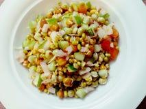 Immagine dell'insalata dei germogli Fotografie Stock