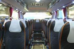 immagine dell'interno del bus fotografia stock