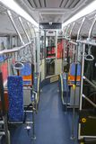 immagine dell'interno del bus fotografia stock