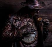Immagine dell'orologiaio nello stylization luminoso di fantasia Fotografia Stock Libera da Diritti