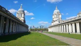 Immagine dell'università di Greenwich Londra immagine stock