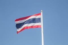immagine della bandiera nazionale della Tailandia Fotografia Stock