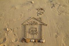 Casetta sulla spiaggia foto stock 133 casetta sulla for Disegni della casa sulla spiaggia