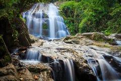Immagine della cascata Fotografia Stock Libera da Diritti