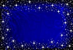 Immagine della decorazione blu Fotografia Stock