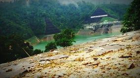Immagine della diga dell'acqua fotografie stock