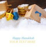Immagine della festa ebrea Chanukah Fotografia Stock