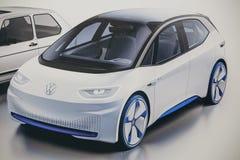 Immagine della foto dell'automobile di nuovo concetto da Volkswagen fotografia stock