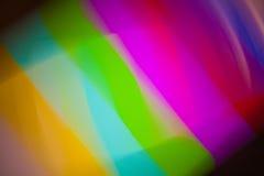 Immagine della lanugine e dell'elettricità statica della TV Fotografia Stock Libera da Diritti