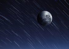 Immagine della luna di alta qualità Fotografie Stock