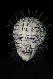 Immagine della mascherina bianca. fotografie stock