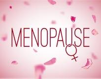 Immagine della menopausa di vettore Immagine Stock Libera da Diritti
