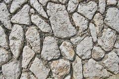 Immagine della parete di pietra di struttura della roccia Fotografia Stock Libera da Diritti