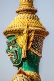Immagine della statua del guardiano Fotografia Stock Libera da Diritti