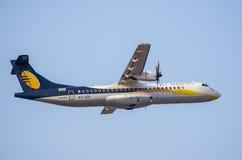 Immagine delle ATR-azione di Jet Airways Fotografia Stock Libera da Diritti