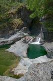 Immagine delle buche di Sooke, BC, il Canada fotografia stock