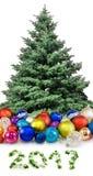 immagine delle decorazioni di Natale Immagini Stock Libere da Diritti