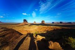 Immagine di alta risoluzione della valle del monumento, Utah, U.S.A. Immagine Stock