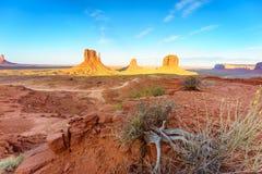 Immagine di alta risoluzione della valle del monumento, Utah, U.S.A. Immagini Stock